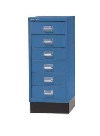 Bisley-MultiDrawers-Desk-Organizer-Blue