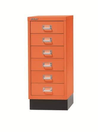 Bisley-Multi-Drawers-Desk-Storage-Orange