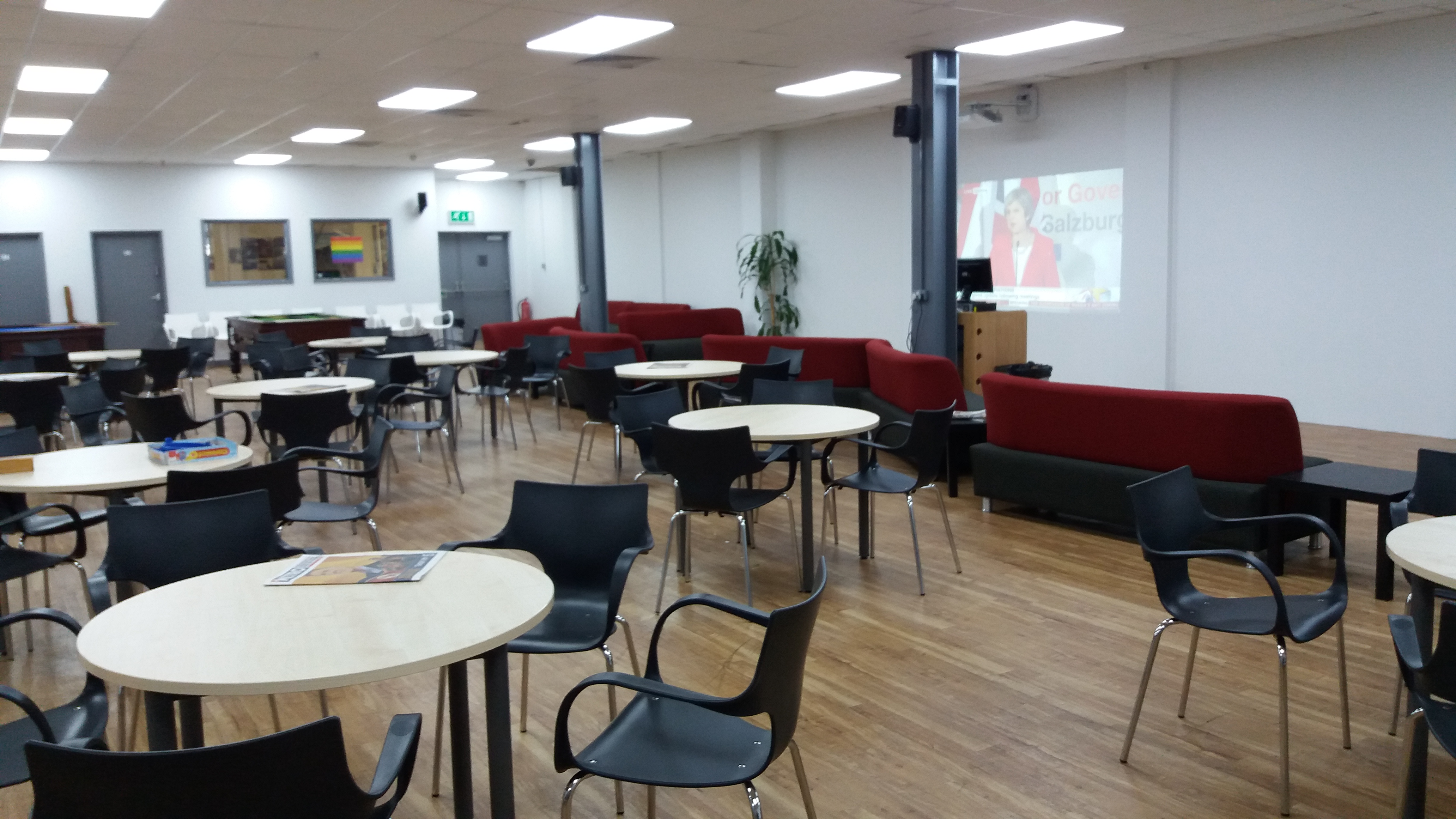 Breakout area in college