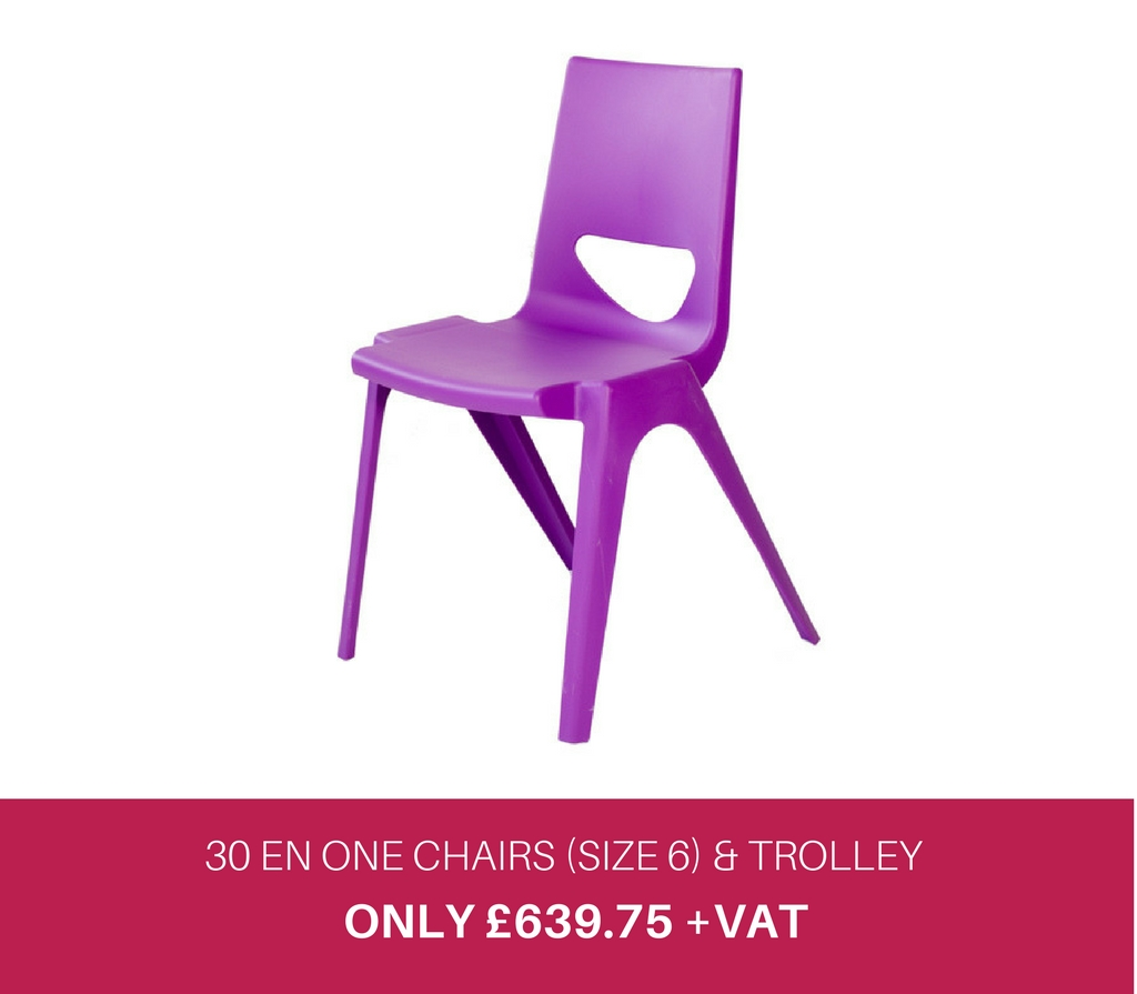 30 EN One Chairs and Trolley Deal
