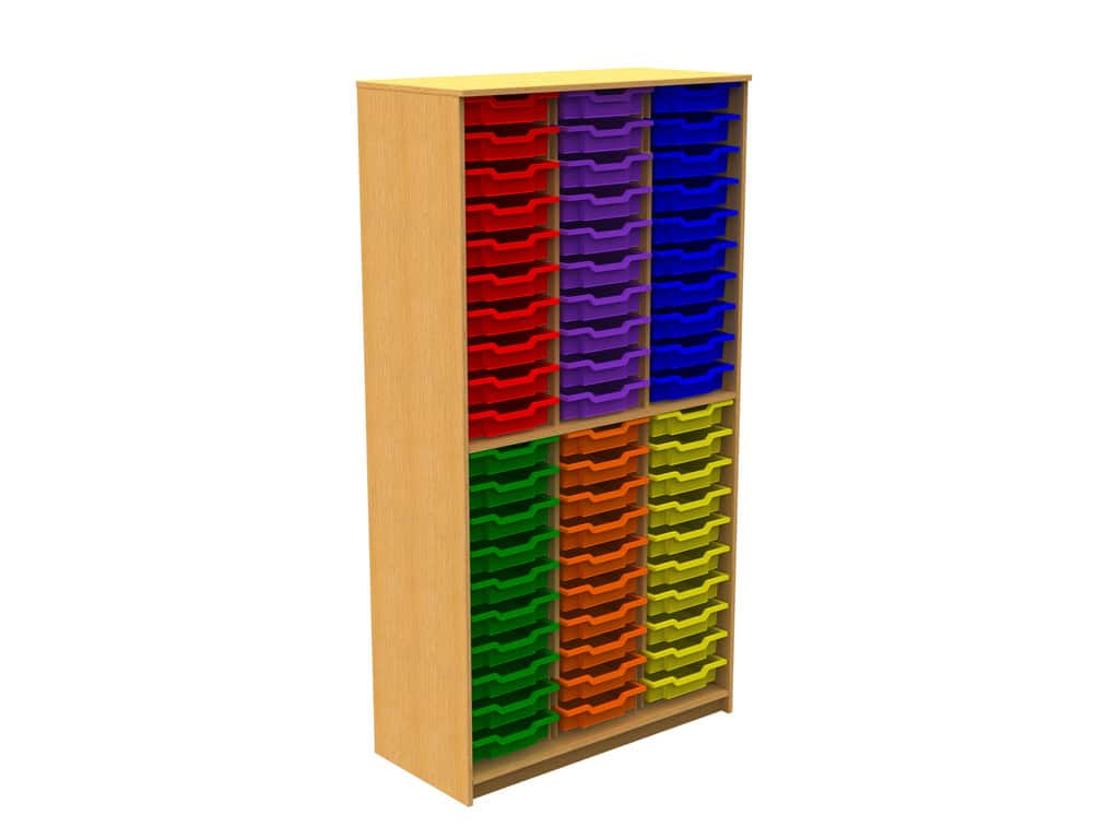 48-Plastic-Tray-Storage-Unit