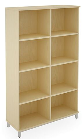 8 Compartment Storage Unit MFC Open Fronted
