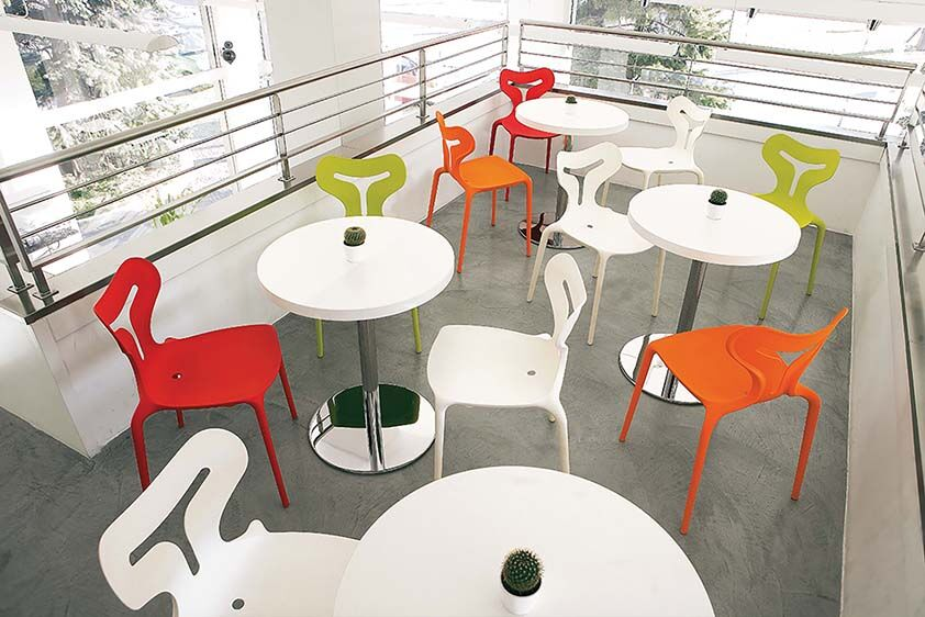 Modern Outdoor Seating Plastic