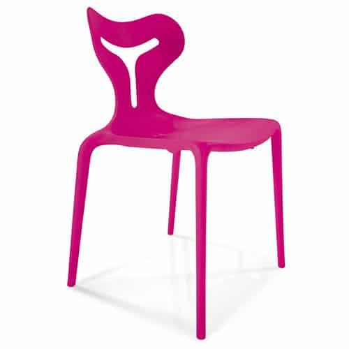 A51-Pink-Plastic-Modern-Outdoor-Chair
