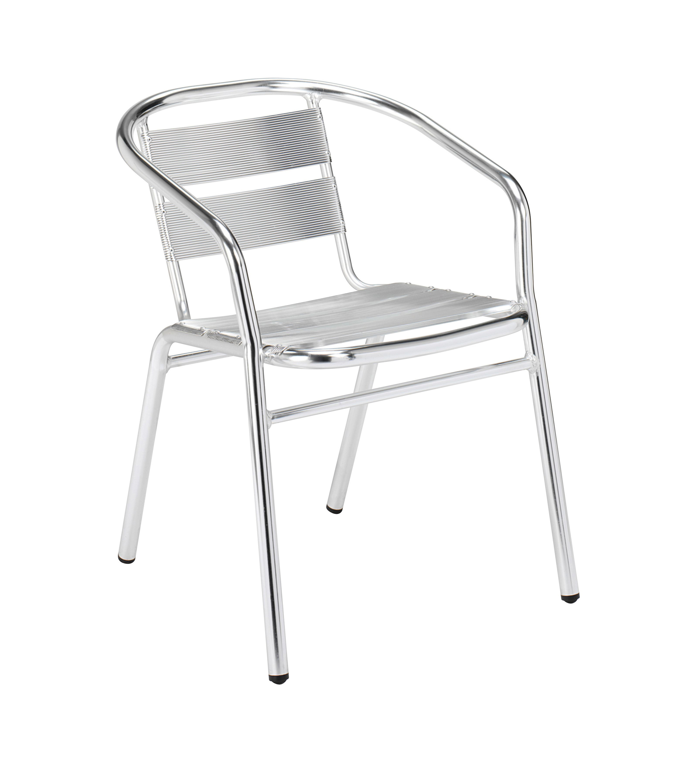 Outdoor Aluminium Chair with Arms