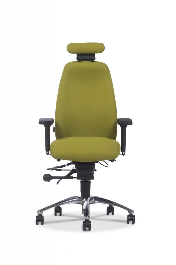 Ergochair Adapt600 with Headrest Front View