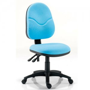 Adlington Task Chair Blue Without Arms