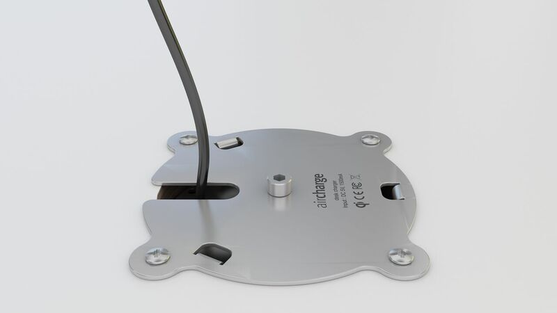 Aircharge Under Desk Fixing Plate