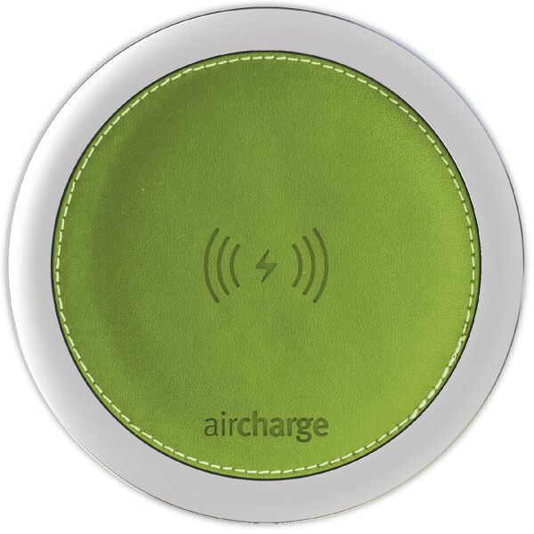 Aircharge Leather Green