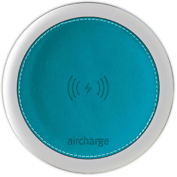 Aircharge Leather Aqua