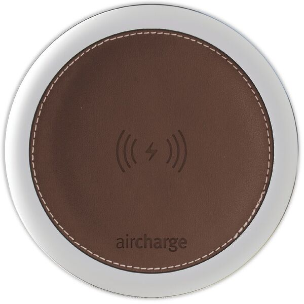Aircharge Leather Dark Brown