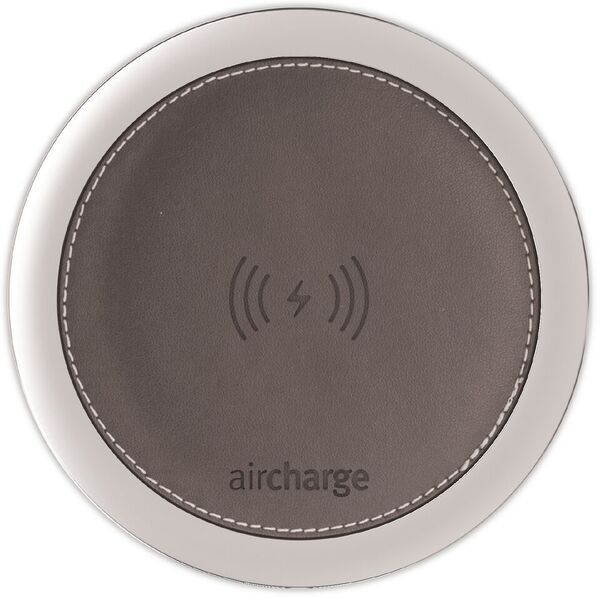 Aircharge Leather Grey