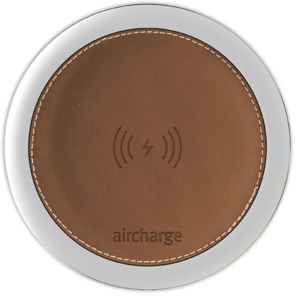Aircharge Leather Light Brown