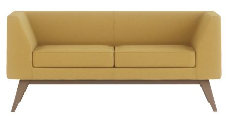 Alvier-Two-Seater-Sofa-with-Wooden-Angled-Legs