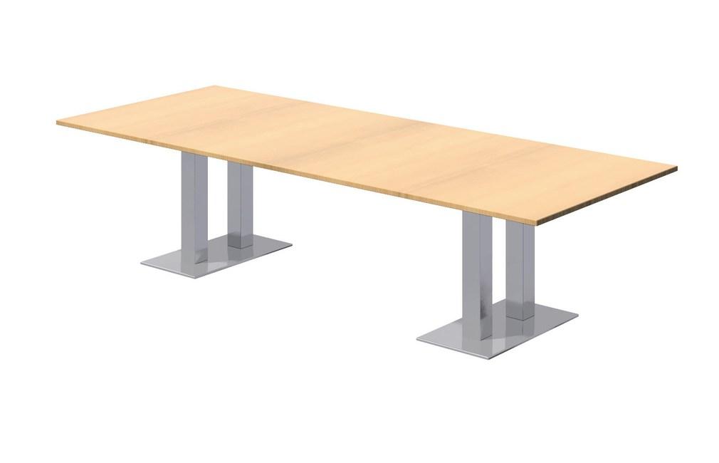Ambus-Sven-Christiansen-Twin-Square-Column-Base-Rectangular-Top-Meeting-Table