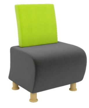 Atrium-Modular-Soft-Seating-Single-Seater-with-Wooden-Legs