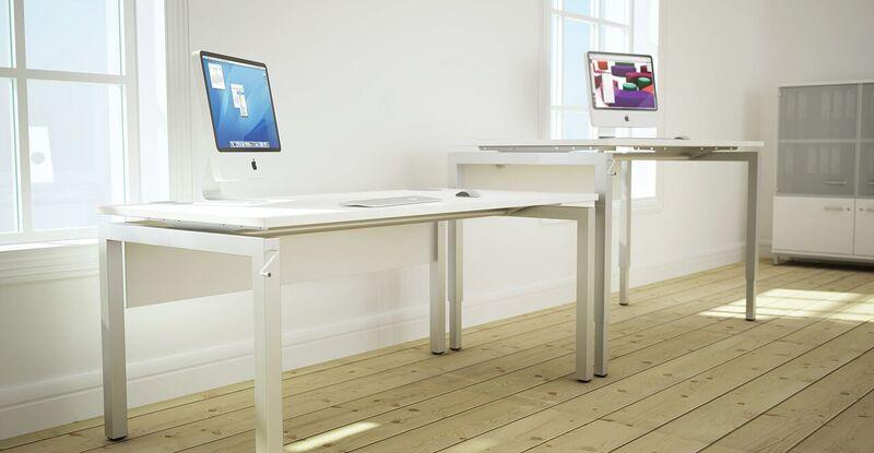 Bench²-Manual-Height-Adjustable-Desks-White-In-Situ