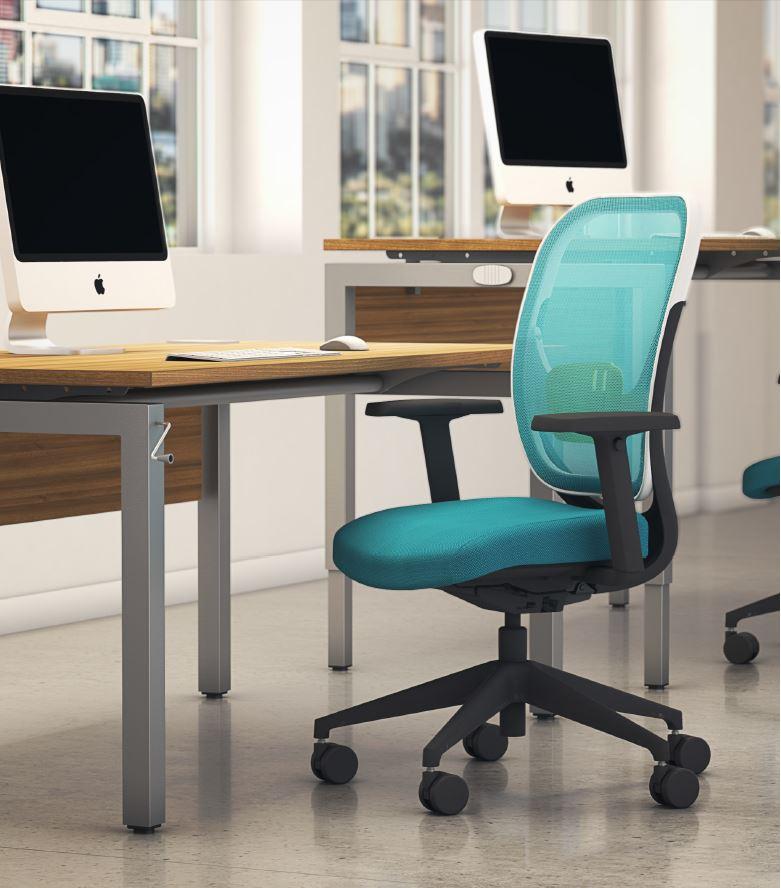 Bench-Squared-Height-Adjustable-Sit-Stand-Desk-Grey-Frame