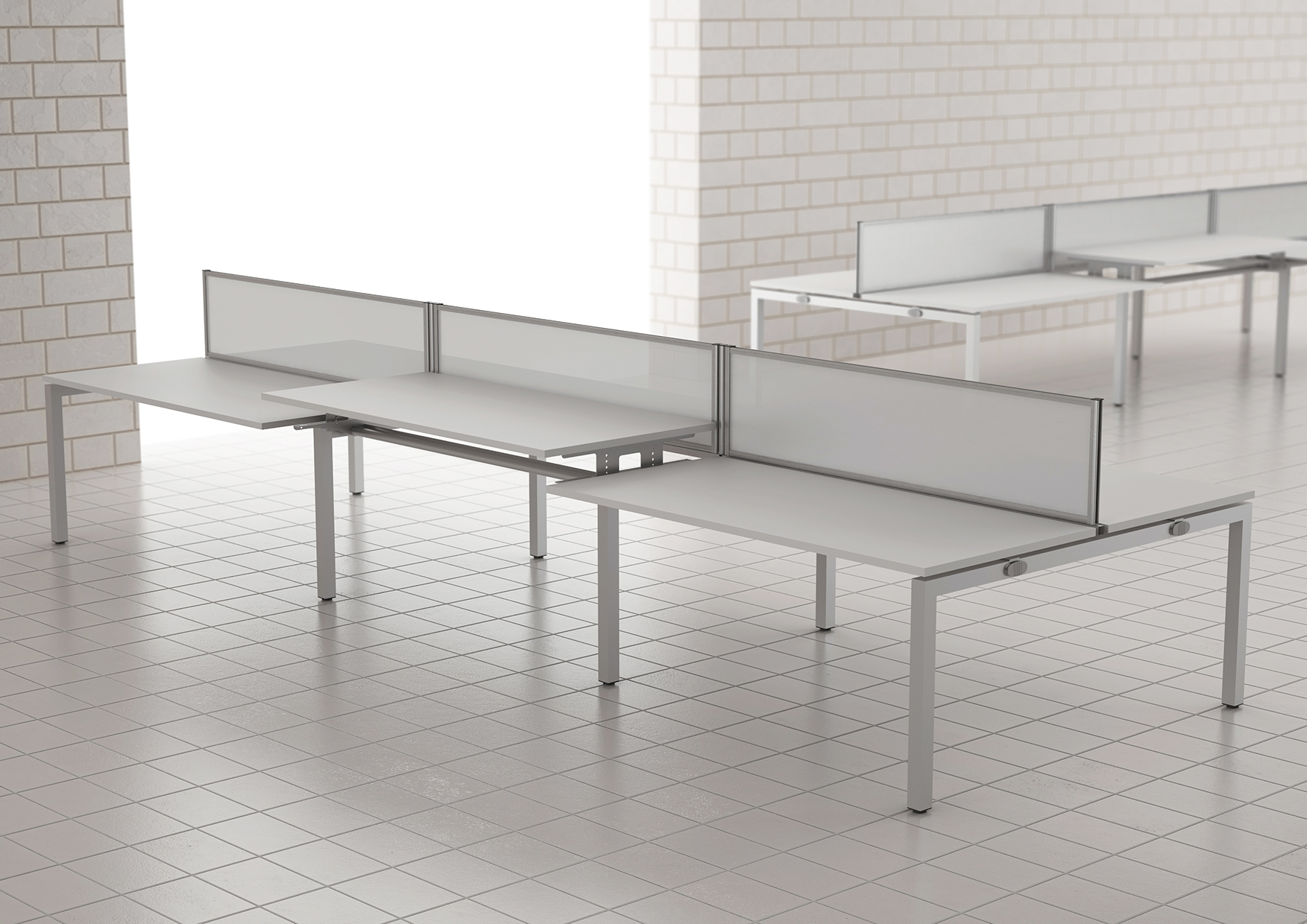 Bench²-Manual-Height-Adjustable-Desks-Example-Set-Up-with-Screens