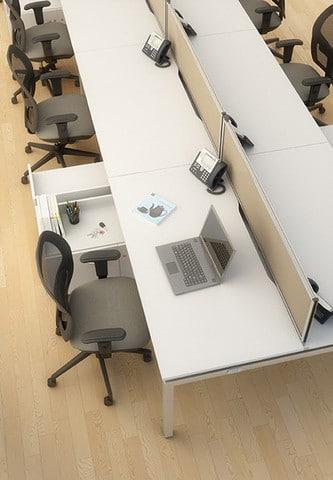 Bench-Scallop-Edge-Desk-Birdseye-View-In-Office