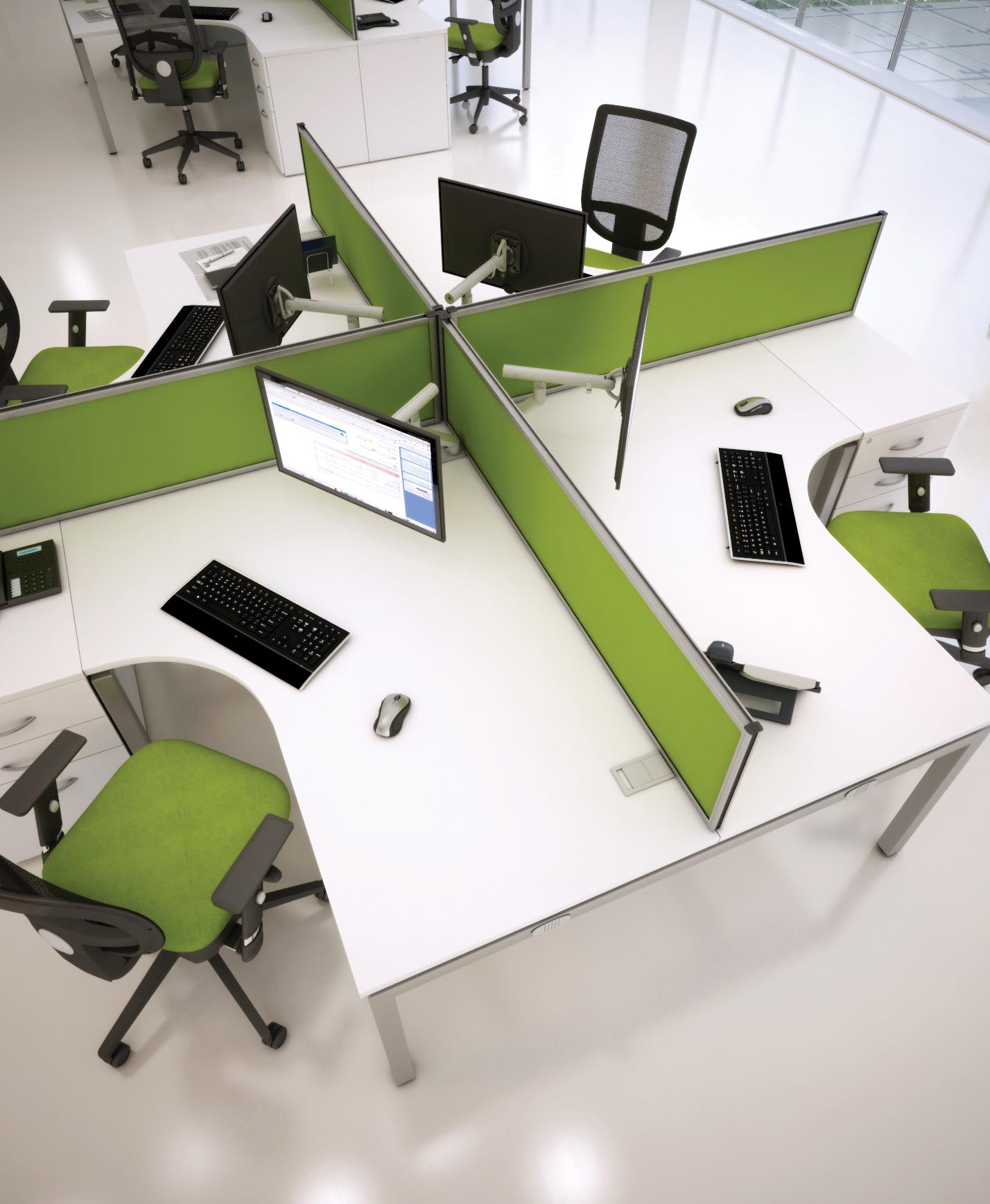 Bench Workstations Wave Office Ltd