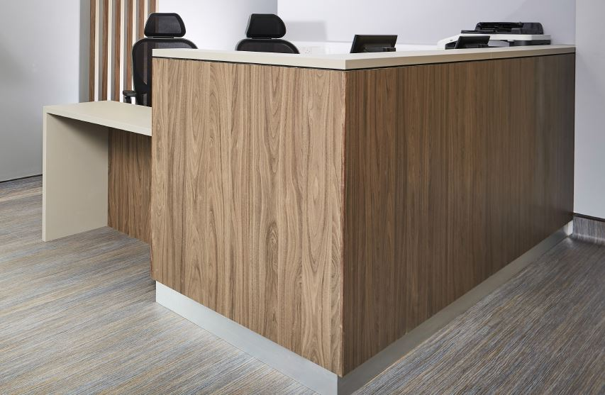 Bespoke Reception Counter MFC