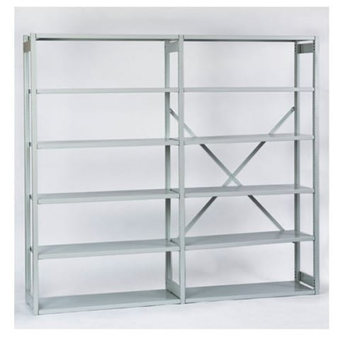 Bisley-Economy-Steel-Shelving-Unit