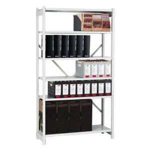 Bisley-Economy-Steel-Shelving-Unit-Example
