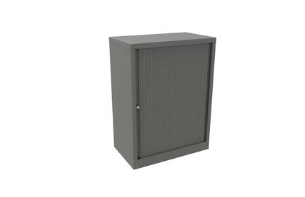 Bisley Essentials Tambour Cupboard with 1 Internal Shelf