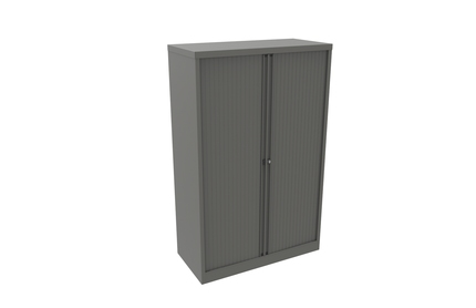 Bisley Essentials Tambour Cupboard with 3 Internal Shelves