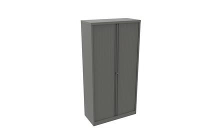 Bisley Essentials Tambour Cupboards with 5 Internal Shelves