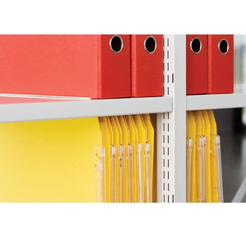 Bisley-Static-Steel-Shelving-Height-Setting-Close-Up