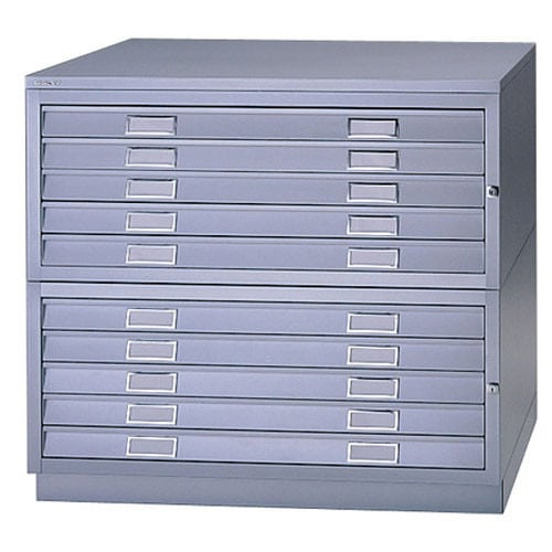 Bisley Steel Plan Filer Grey
