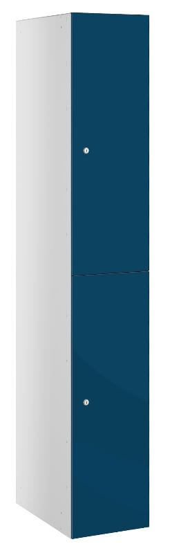 Double door Locker Blue Buzzbox