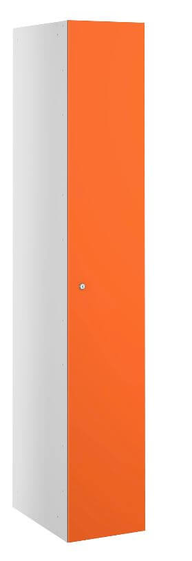 Single Door Locker Orange BuzzBox