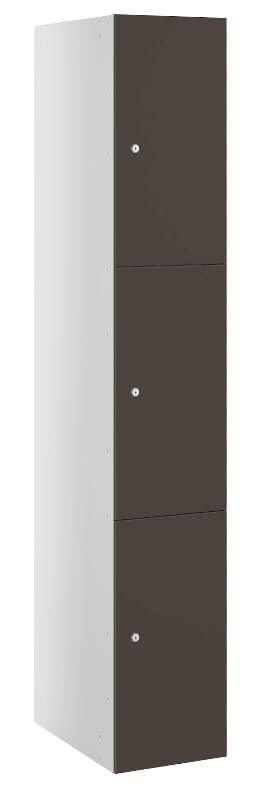 Triple Compartment Locker Anthracite Buzzbox
