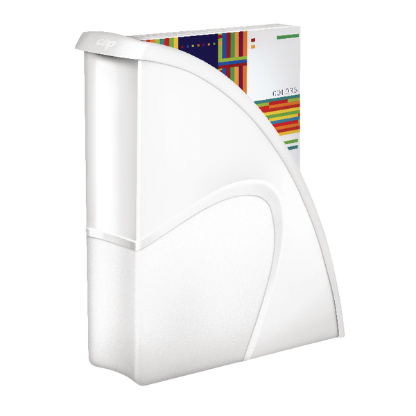 CEP74002 Magazine File Gloss White