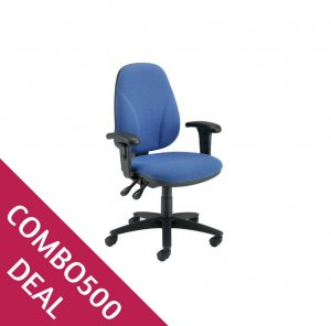 COMBO500 DEAL CONCEPT OPERATOR CHAIR HEIGHT ADJUSTABLE ARMS
