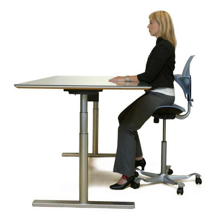 Capisco Puls Ergonomic Task Chair Wave Office