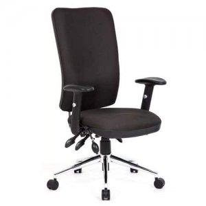Chiro-High-Back-Office-Chair-Brown