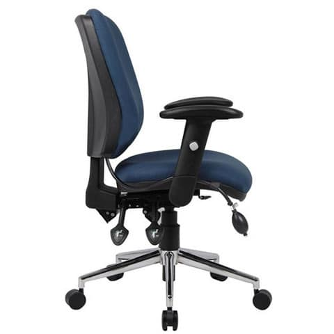 Chiro-Mid-Back-Office-Chair-With-Arms-Side-View