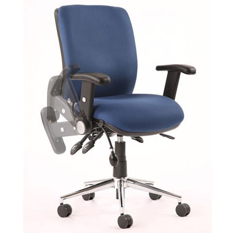 Chiro-Mid-Back-Office-Chair-With-Folding-Arms