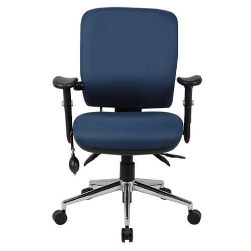 Chiro-Mid-Back-Office-Chair-With-Arms-Navy