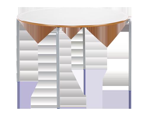 Circular Crush Bent Classroom Table