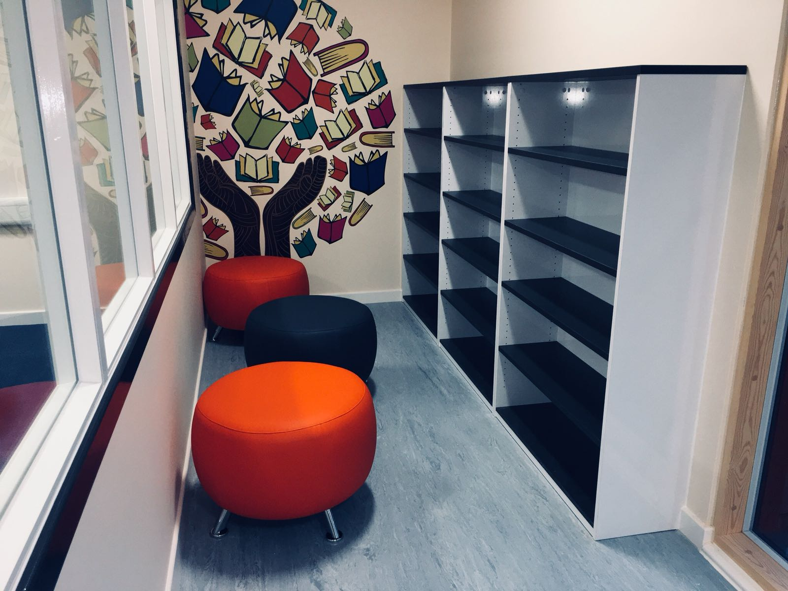 Classroom Refurb Reading Area