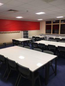 Classroom refurb postura plus chairs