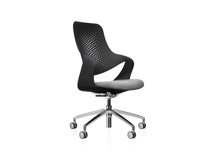 Coza Black Shell Grey Seat