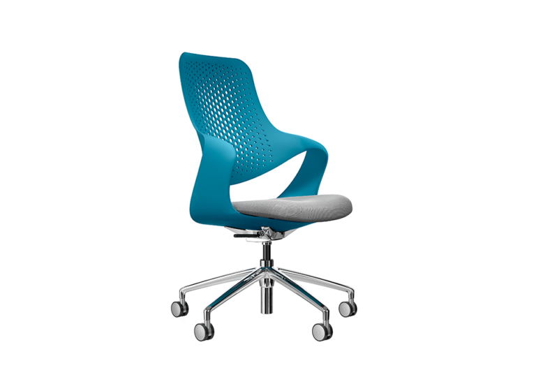 Coza Blue Shell Grey Seat