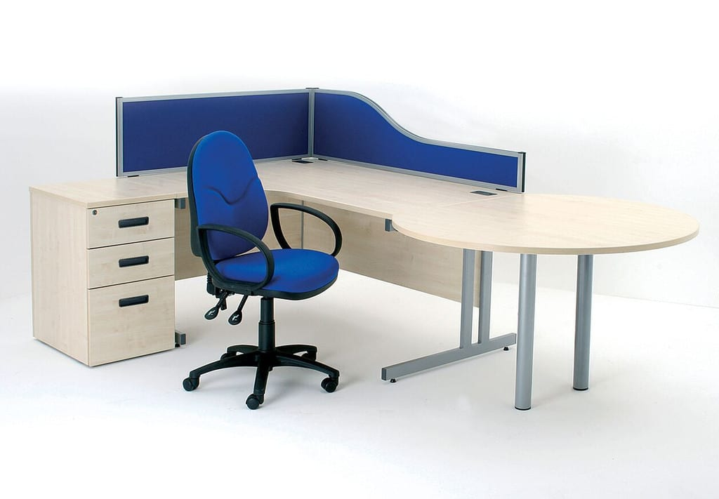 D3k Desk Mounted Screens Wave Office Ltd