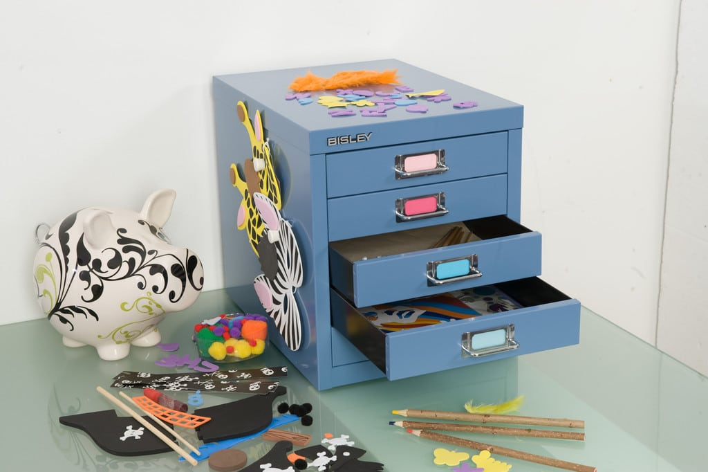 Bisley-Multidrawers-Personalized-Desk-Storage